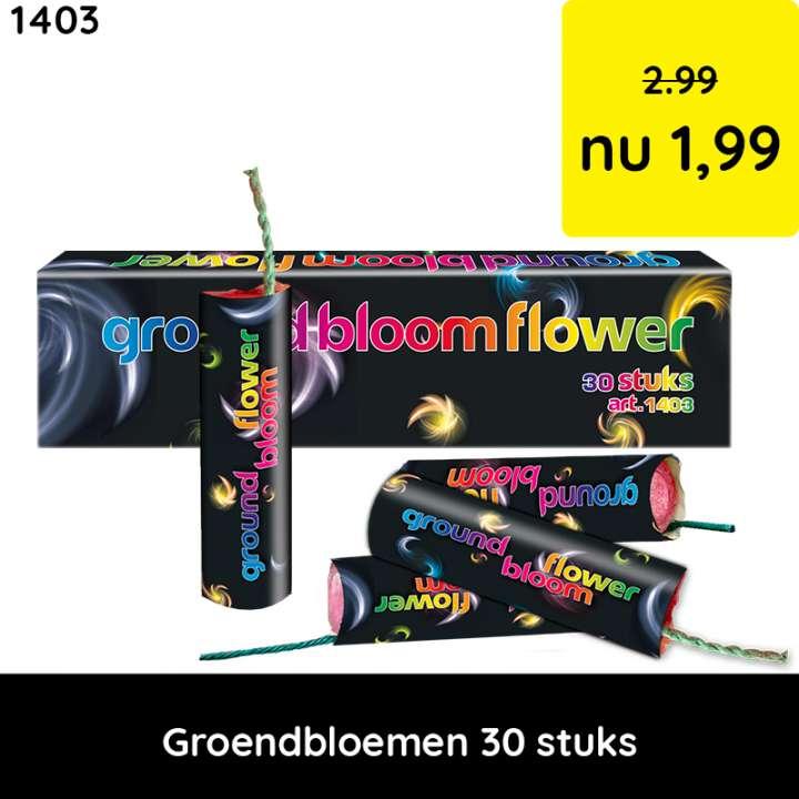 grondbloemen - categorie 1 vuurwerk - kindervuurwerk